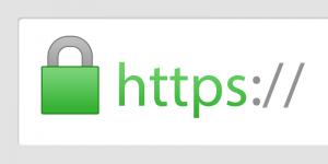 screenshot adresbalk groen slotje voor https